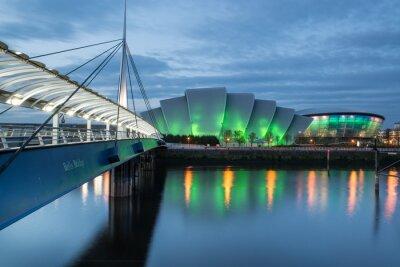 Naklejka Glasgow