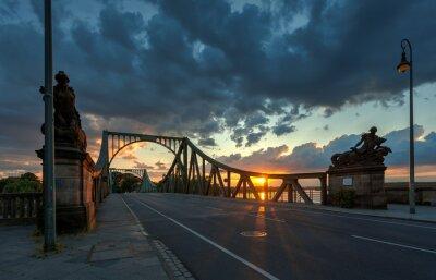 Naklejka Glieneker most