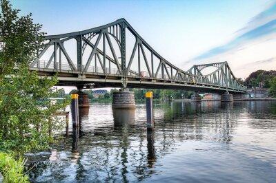 Naklejka Glienicker Brücke Potsdam / Berlin