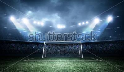 Naklejka Goal post