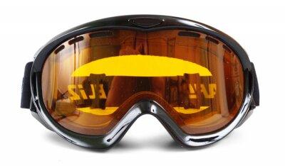 Naklejka Gogle narciarskie