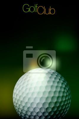 Golf Ball Background Wszystkie elementy są w oddzielnych warstwach i pogrupowane.