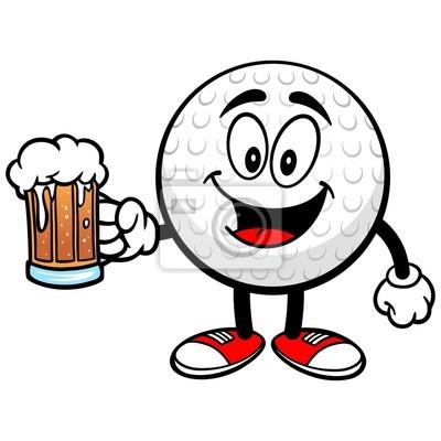 Golf Ball z piwa