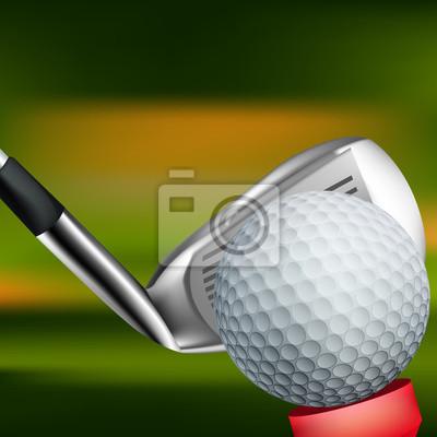 Golf Kontekst Wszystkie elementy są w oddzielnych warstwach i pogrupowane.