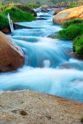 Naklejka Górski potok