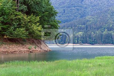 Naklejka górskie jezioro