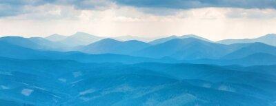 Naklejka Góry Błękitne