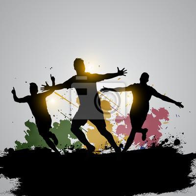 gracze soccer świętuje 03 grunge