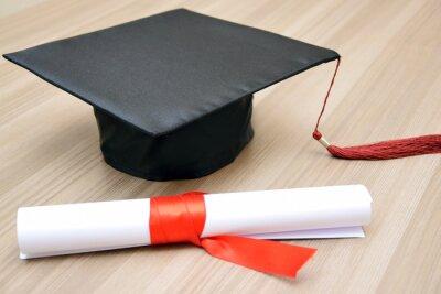 Naklejka graduate