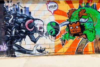 Naklejka Graffiti