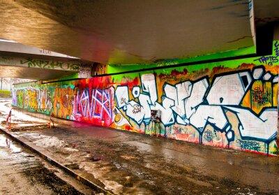 Naklejka Graffiti na ścianie