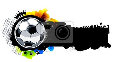 Graffiti obrazu z piłki nożnej