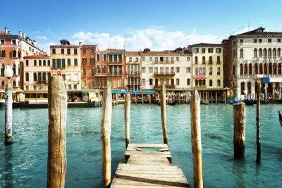 Naklejka Grand Canal, Wenecja, Włochy