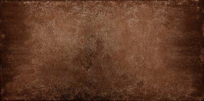 Naklejka Grunge brown stone texture background
