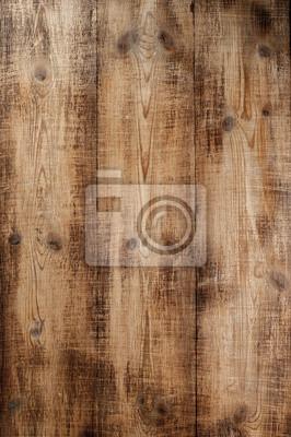 Naklejka Grunge drewna deski tekstura z naturalnym wzorem.