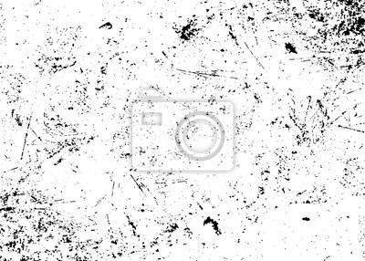 Naklejka Grunge tekstury biały i czarny. Szkic abstrakcyjne Tworzenie udzielenie efekt. Nakładka Distress monochromatyczny wzór ziarna. Stylowe nowoczesne tło dla różnych produktów drukarskich. ilustracji wekt