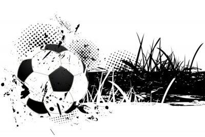 Grunge z piłki nożnej