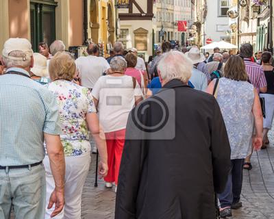 Naklejka Grupa Retired Travel