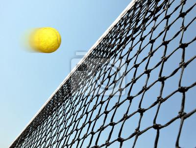 Naklejka Gry w tenisa