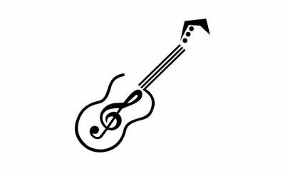 guitar wektor