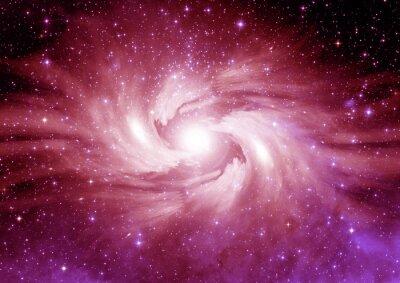 Naklejka Gwiazd, pyłu i gazu mgławica