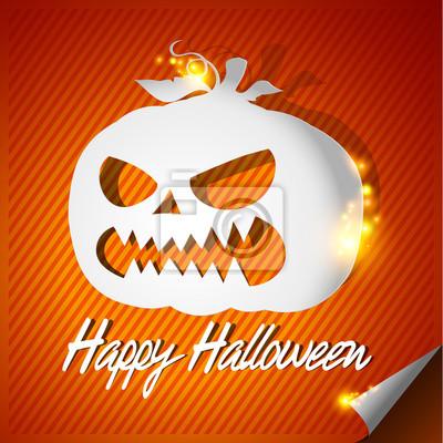 Halloween papieru