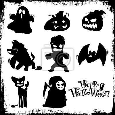 halloween potwory