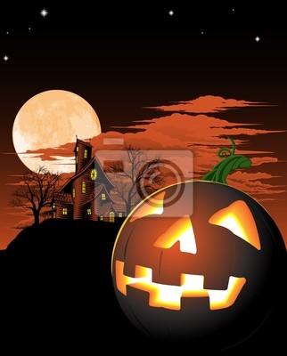 Halloween tle z dyni