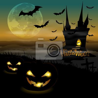 halloween zamku