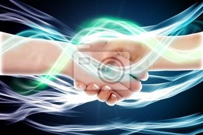 Handshake dwóch ludzi biznesu