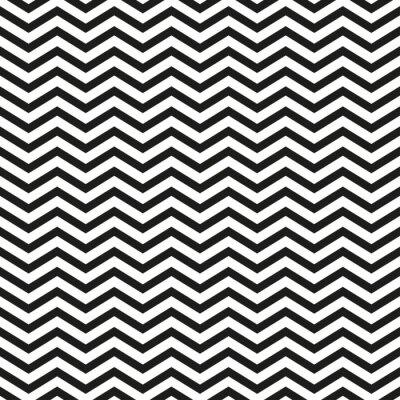 Naklejka Harmonijkę z czarnymi liniami stylowy ilustracji