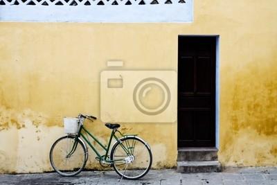 Haus und Fahrrad w Wietnamie