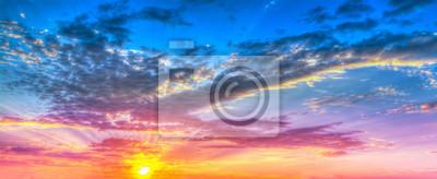 hdr zachód słońca