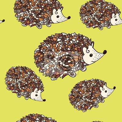 Hedgehog bez szwu wzór