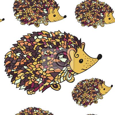 Hedgehog szwu wzorca.