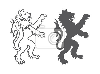 Heraldyka Lion