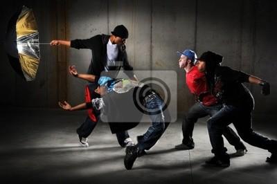 Hip hop mężczyzna
