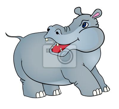 Hipopotam kreskówek