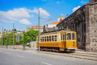 Naklejka Historical Tram, Porto