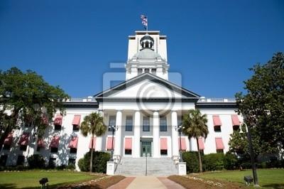 Naklejka Historyczne Tallahassee na Florydzie Capital Building