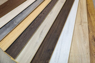 home improvement - wood texture laminate flooring samples