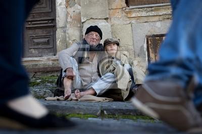 Homeless porzucone rodziny