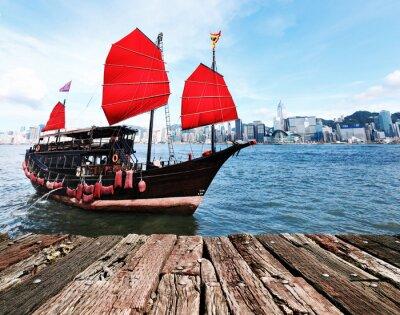 Naklejka Hong Kong Harbour