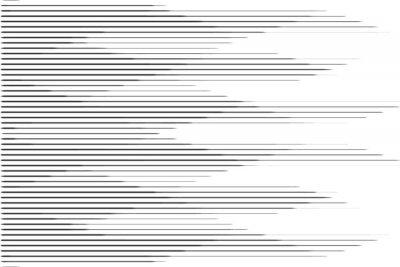 Naklejka Horyzontalny wzór linii prędkości półtonów z efektem gradientu. Szablon dla tła i stylizowane tekstury.