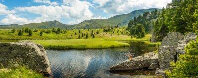 Naklejka Idyllic summer landscape