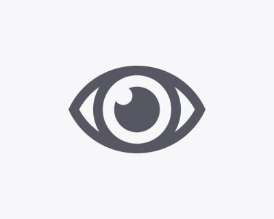 Ikona Eye - Vector
