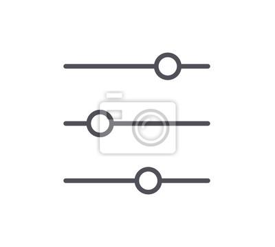 Ikona linii filtru