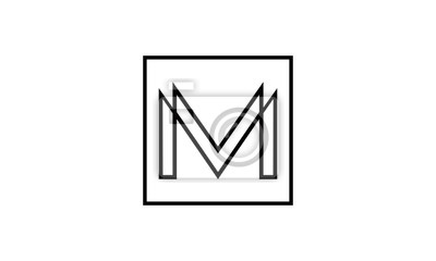 ikona litera M logo