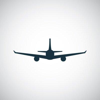 Naklejka Ikona samolotu