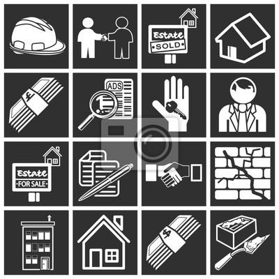 ikony nieruchomości